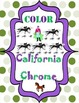 Belmont Stakes and California Chrome Coloring Pages