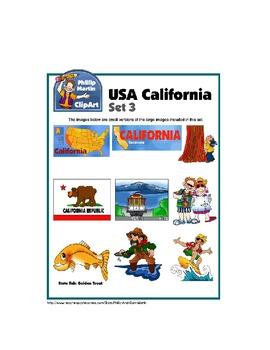 California Clip Art Unit 2