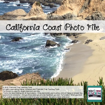 California Coast Photo File