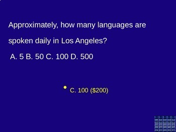 California Coastal Region Jeopardy