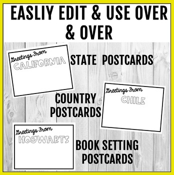 Post Card Template Free
