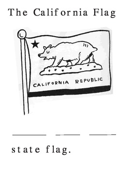 California Coloring/Cutting pages