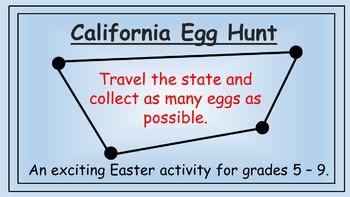 California Easter Math Activity