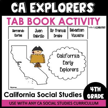 California Spanish Explorers Tab Book