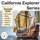 Six California Explorers Texts Cabrillo Drake de Anza & Mo