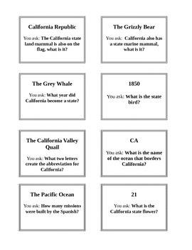 California Facts Activity (Editable)