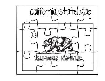 California Flag Puzzle