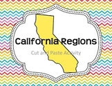 California Regions- Cut and Paste Activity