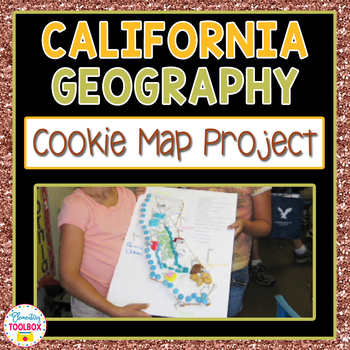 California Geography Project-Cookie Map