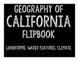 California Geography Flipbook