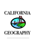 California Geography Packet/Worksheets