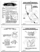 California Geography Bundle of 8 COMPLETE Lessons