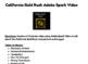 California Gold Rush Adobe Spark Video