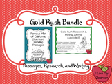 California Gold Rush BUNDLE {Reading Passages, Research, and Writing)
