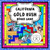California Gold Rush Board Game
