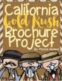 California Gold Rush Brochure Project