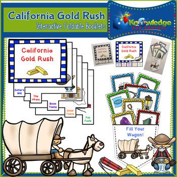 California Gold Rush Interactive Foldable Booklets - EBOOK
