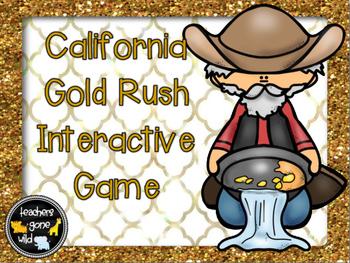California Gold Rush Interactive Game