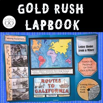 California Gold Rush Lapbook