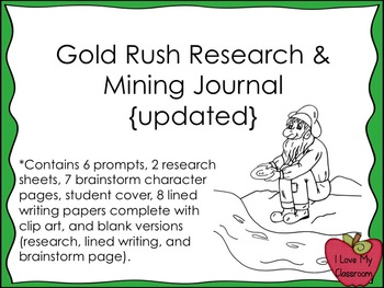 gold miner journal entry The journal of an 1859 pike's peak gold seeker edited by david lindsey winter, 1956 (vol 22 no 4), pages 305 to 320  journal of a gold seeker 325 ii the journal, april-september.