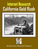 California Gold Rush (One-hour Internet Research Projects)