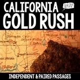 California Gold Rush Paired Passages
