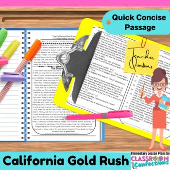 California Gold Rush: Passage