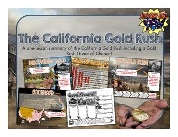 California Gold Rush: PowerPoint, Infographic, & Game