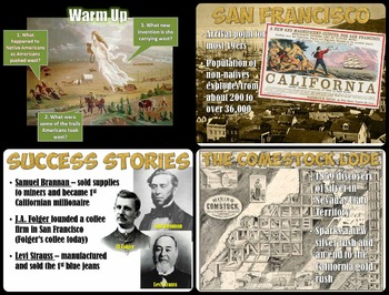 California Gold Rush PowerPoint Presentation