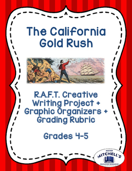 California Gold Rush RAFT Creative Writing Project