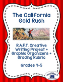 California Gold Rush RAFT Creative Writing Project