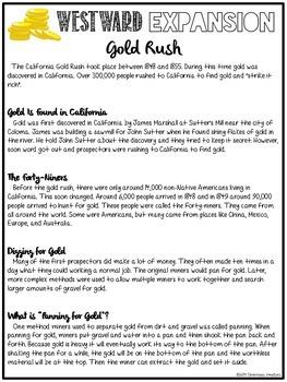 California Gold Rush (Read the Room)