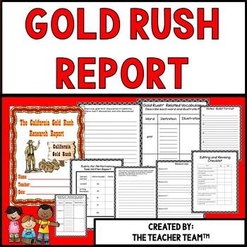 California Gold Rush Report