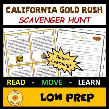 California Gold Rush Scavenger Hunt