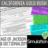 California Gold Rush Simulation