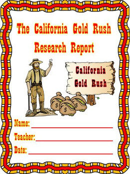 California Gold Rush Unit with Informational Passages for Close Reading
