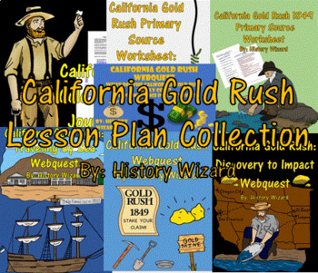 California Gold Rush Lesson Plan Collection