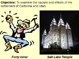 California Gold Rush and Settlement of Utah PowerPoint Pre