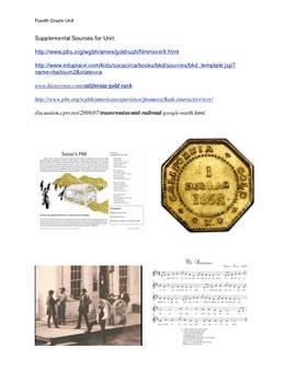 California Gold Rush and the Transcontinental Railroad