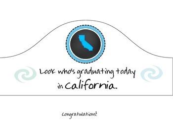 California Graduation Hat