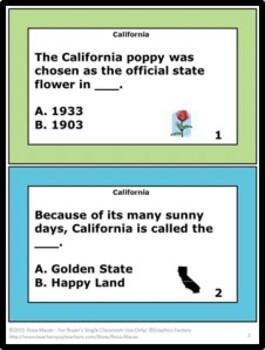California Hello USA Comprehension Questions