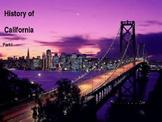 California History PowerPoint - Part I