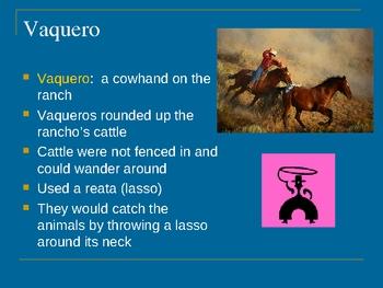 California History:  Rancho Life