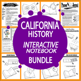 California History–SEVEN Engaging Literacy-Based California State Study Lessons