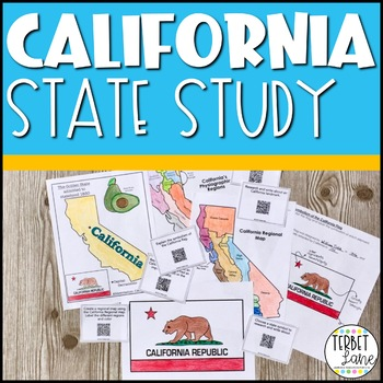 California History and Symbols Unit Study