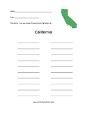 California - How Many Words Can You Make?
