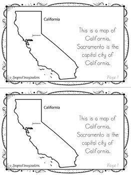 California | State Study | 56 Pages for Differentiated Learning + Bonus Pages