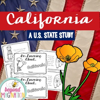California | State Study | 56 Pages for Differentiated Lea
