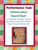 California Indians Research Report Task (Project)