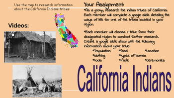 California Indians assignment hyperdoc